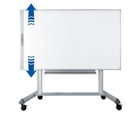 Rullstativ till e-Board TOUCH, höj- och sänkbart