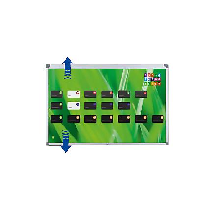 Väggfäste till e-Board TOUCH höj- och sänkbart