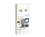 Magneter Glass Board Silver