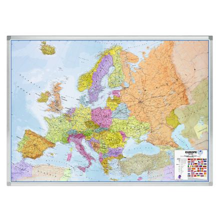 Karta Europa 102x141 cm