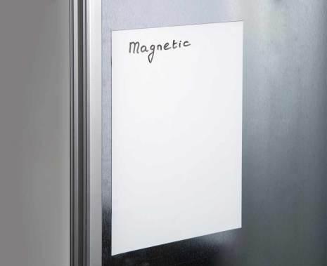 Magnetfolie vit 200x300mm