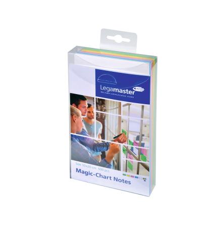 MAGIC CHART NOTES 10x20cm sort*