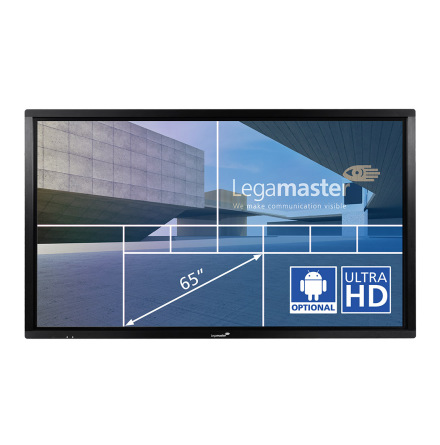 "E-Screen ETX 65"",UHD, svart"