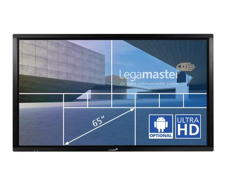 """E-Screen ETX 65"""",UHD, svart"""