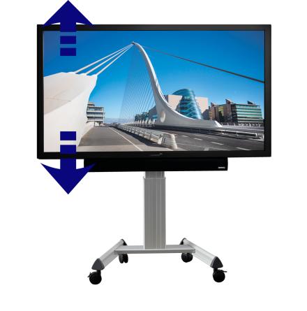 Elektriskt rullstativ för e-Screen