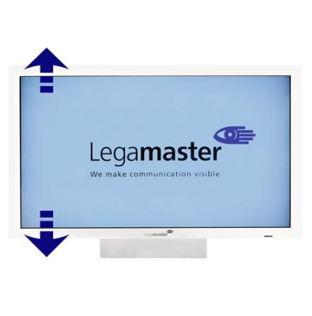Elektriskt väggstativ för e-Screen
