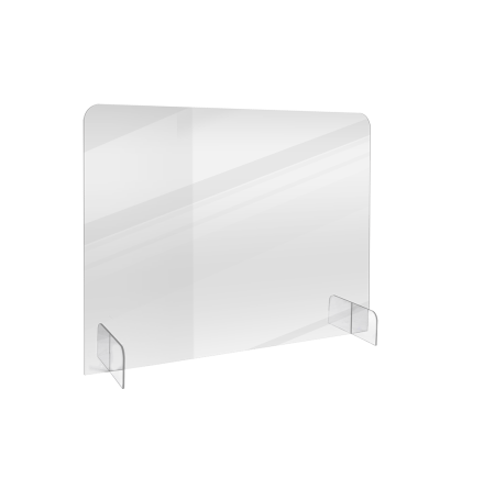 Bordsavdelare BASIC transparent